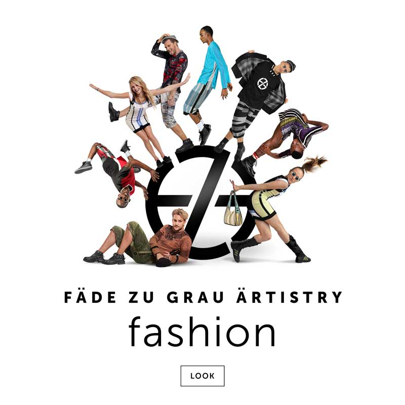 artist fade zu grau intro image for his fashion portfolio