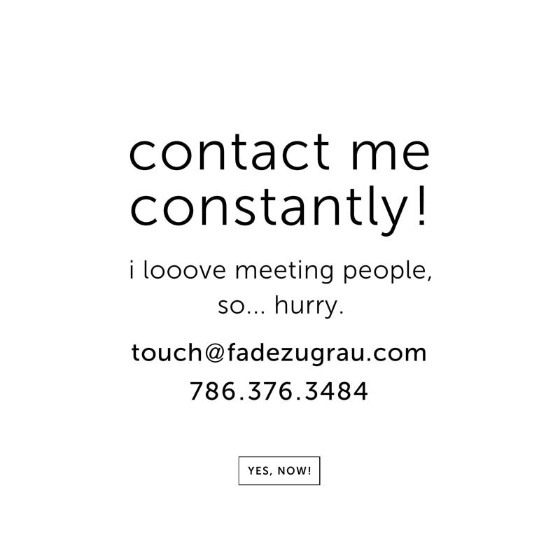 artist fade zu grau contact information