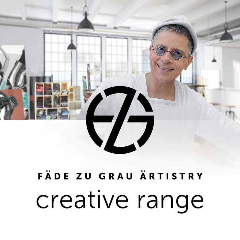 artist fade zu grau in his design studio in miami