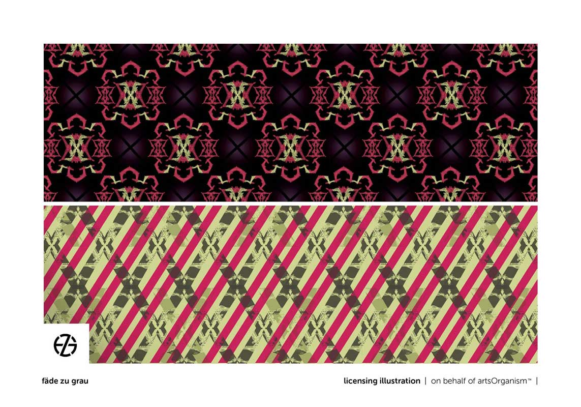 graphic design of repeated shapes