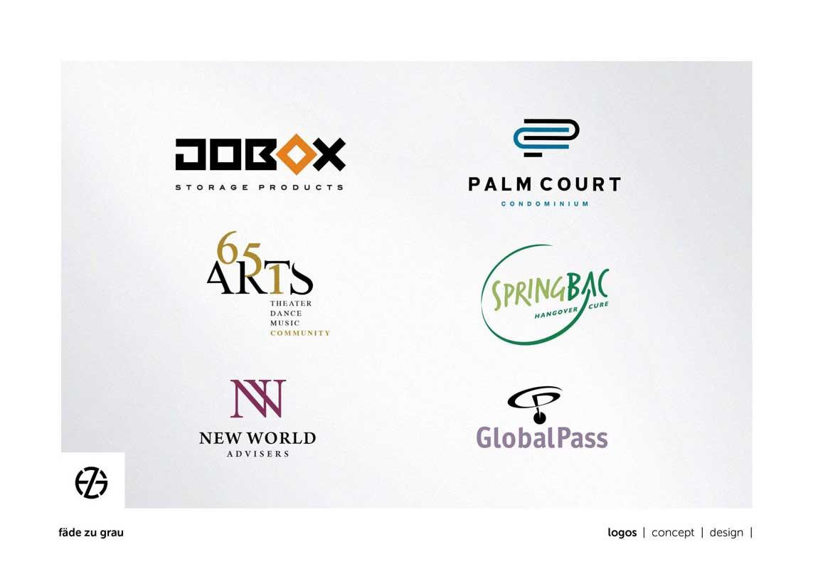 graphic design logo samples