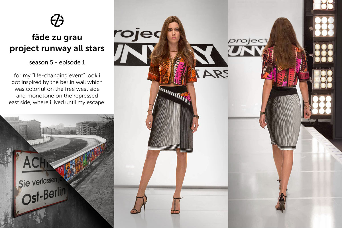 fade zu grau's look at project runway all stars season 5, episode 1