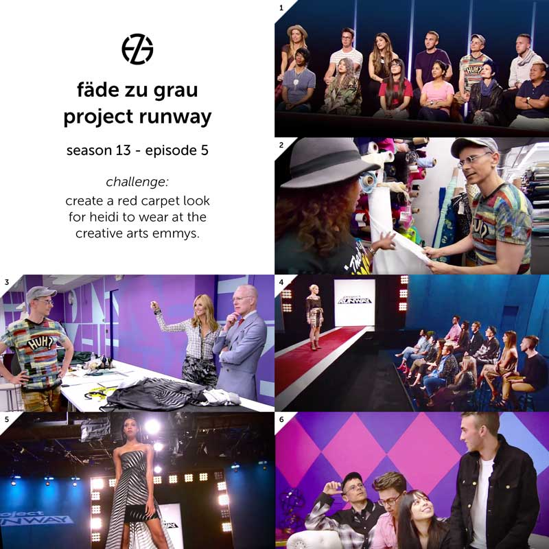 images from project runway season 13, episode 5
