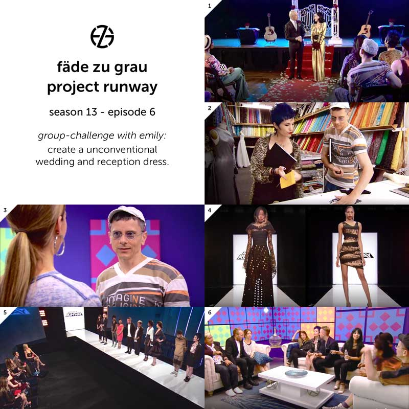 images from project runway season 13, episode 6