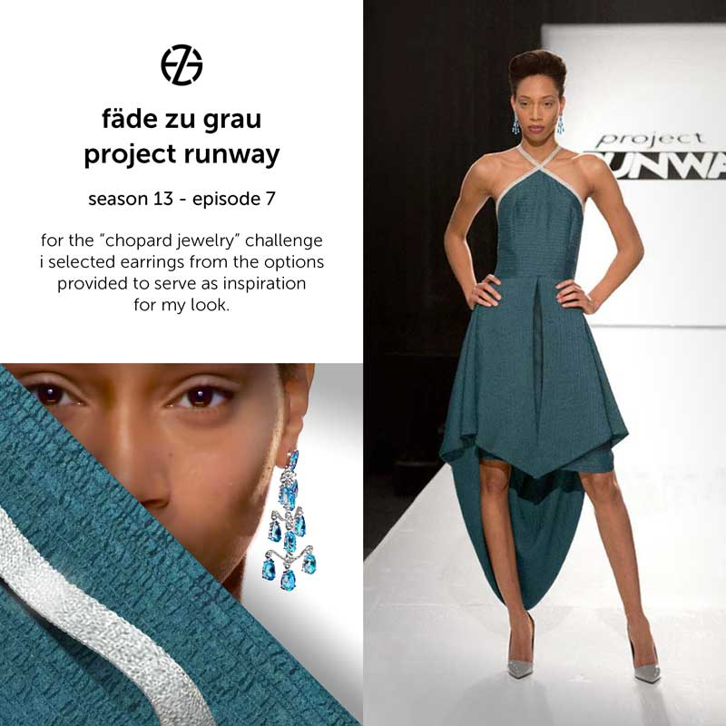 fade zu grau's look at project runway season 13, episode 7