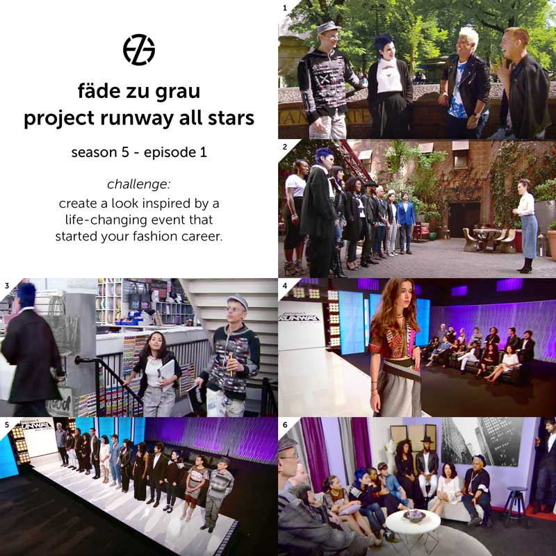 images from project runway all stars season 5, episode 1