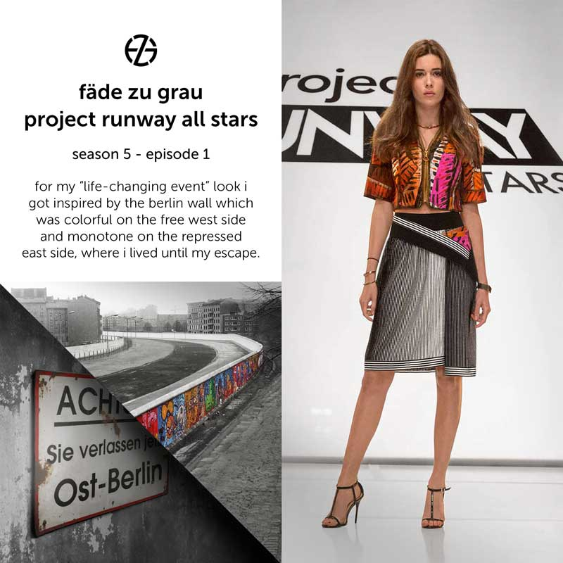 fade zu grau's look at project runway all stars, episode 1