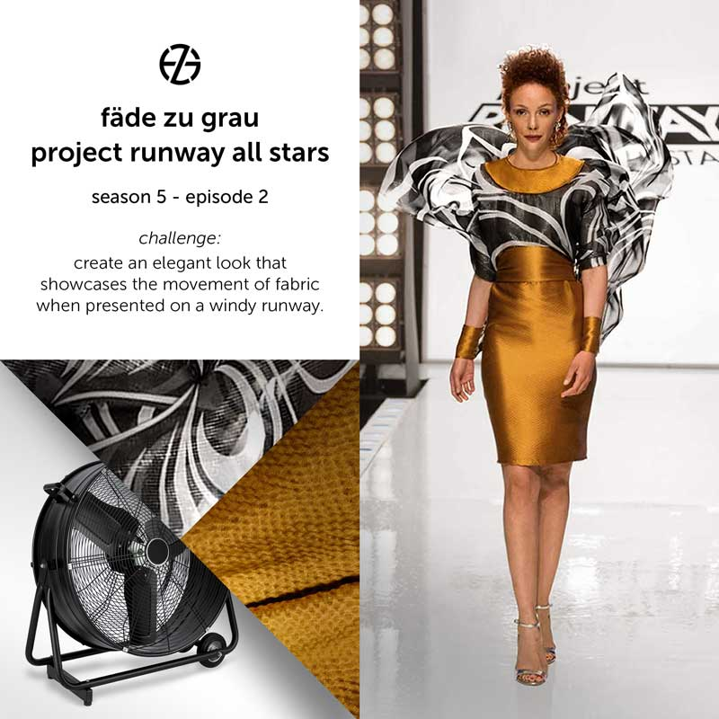 fade zu grau's look at project runway all stars, episode 2