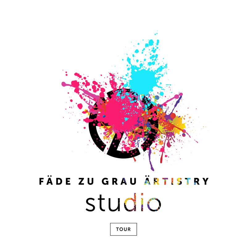 artist fade zu grau intro image for his graphic design studio